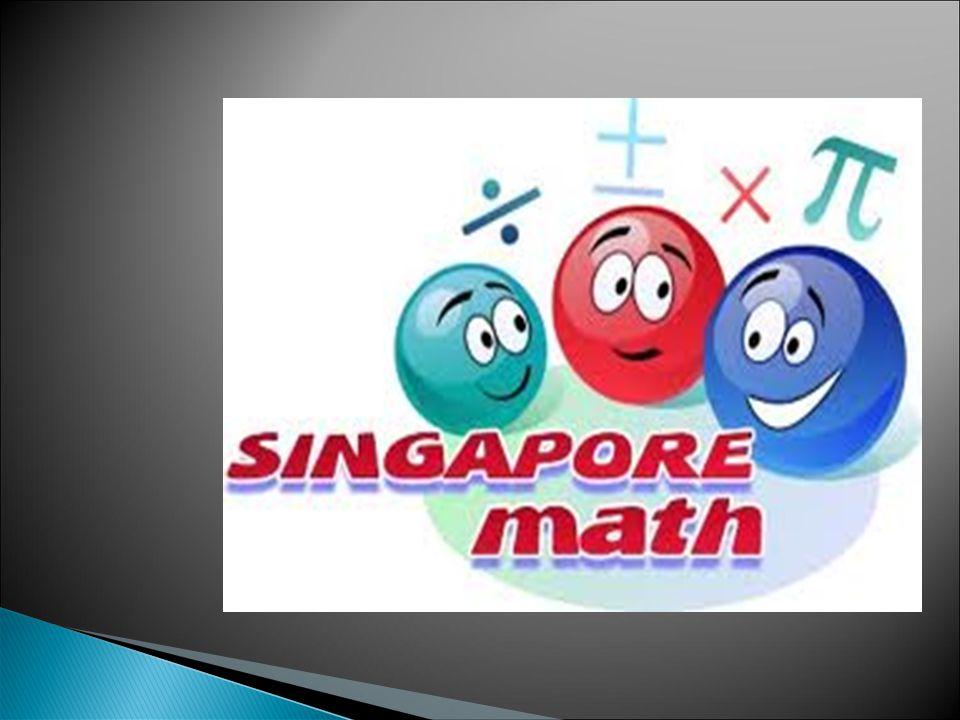 Singapore Math è un progetto americano per trasferire i libri usati nelle scuole primarie e secondarie di Singapore all interno del mercato americano.