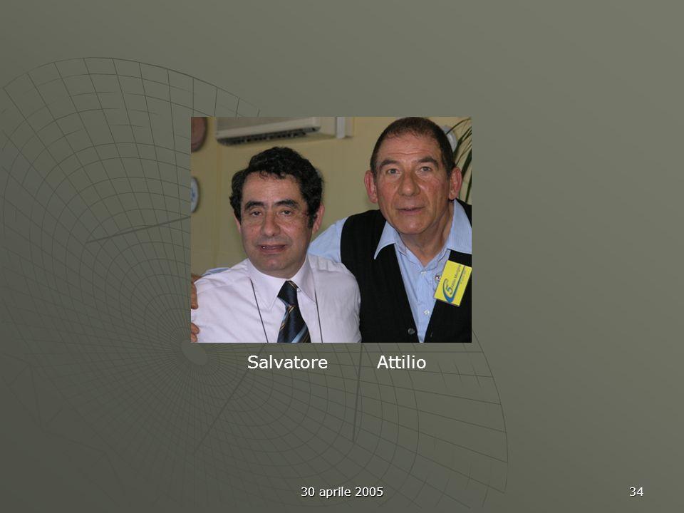30 aprile 2005 35 Amedeo Ennio Giancarlo B