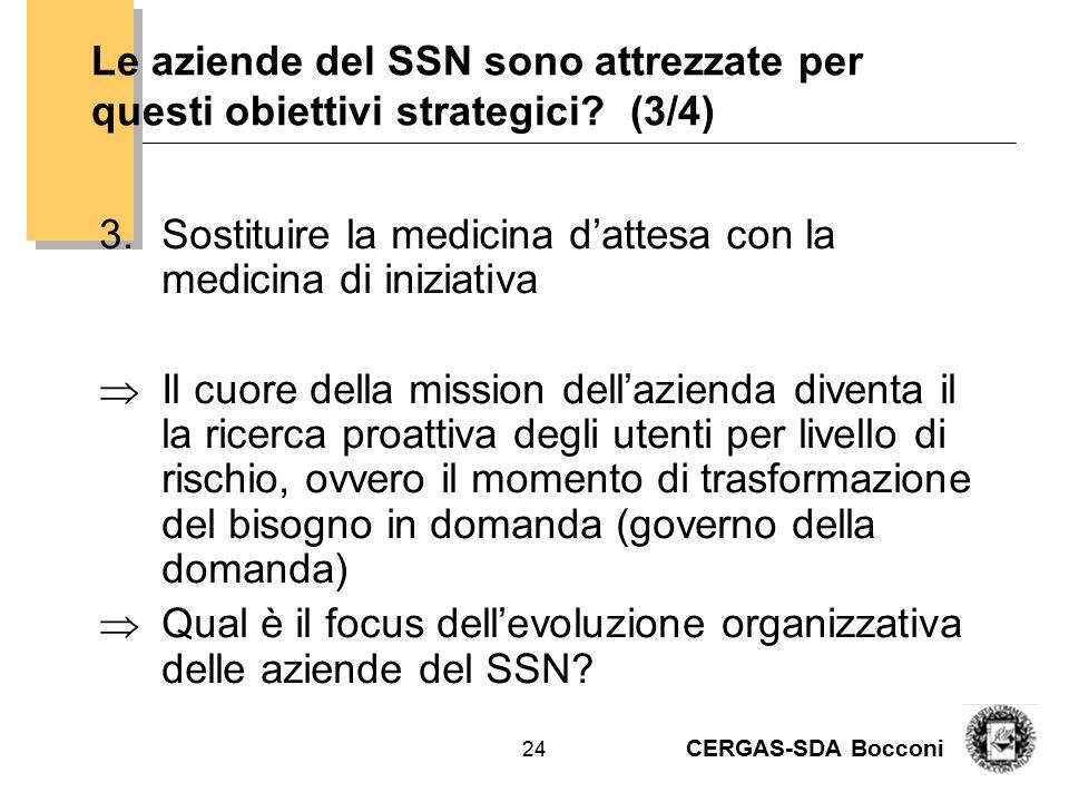 CERGAS-SDA Bocconi 25 L'evoluzione degli strumenti manageriali Tratto da E.