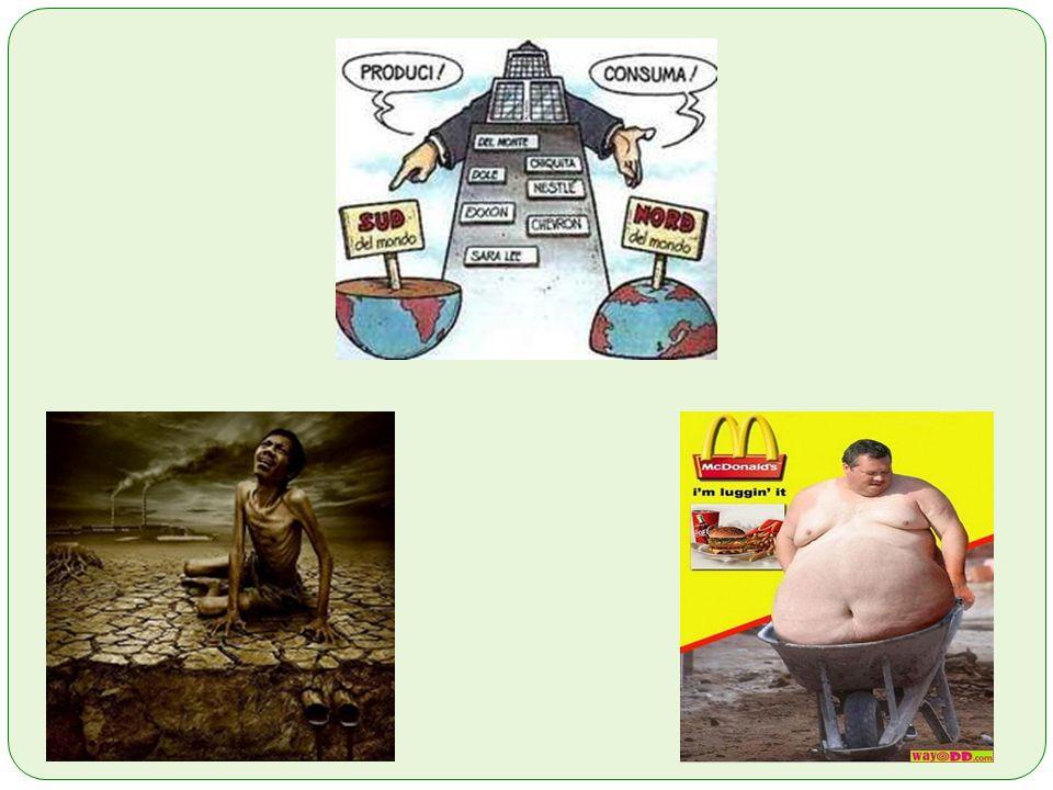 7.2 Le 10 peggiori multinazionali al mondo Chevron (ex texaco, petrolio), The Beers (diamanti), Philip Morris (tabacco), CocaCola (bevande gasate), Pfizer (farmaceutica, di recente ha sperimentato in Nigeria su bambini e analfabeti assieme alla Novartis ), McDonalds (fast food), Nestlé (???), British Petroleum (petrolio), Monsanto (ogm, ormoni e semi suicidi ), Vale (estrazione mineraria).