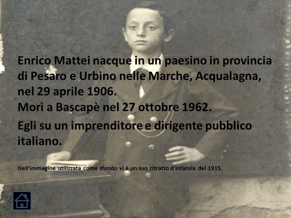 Storia 1906: Anno di nascita.1923: Entra come garzone alla Conceria Fiore.