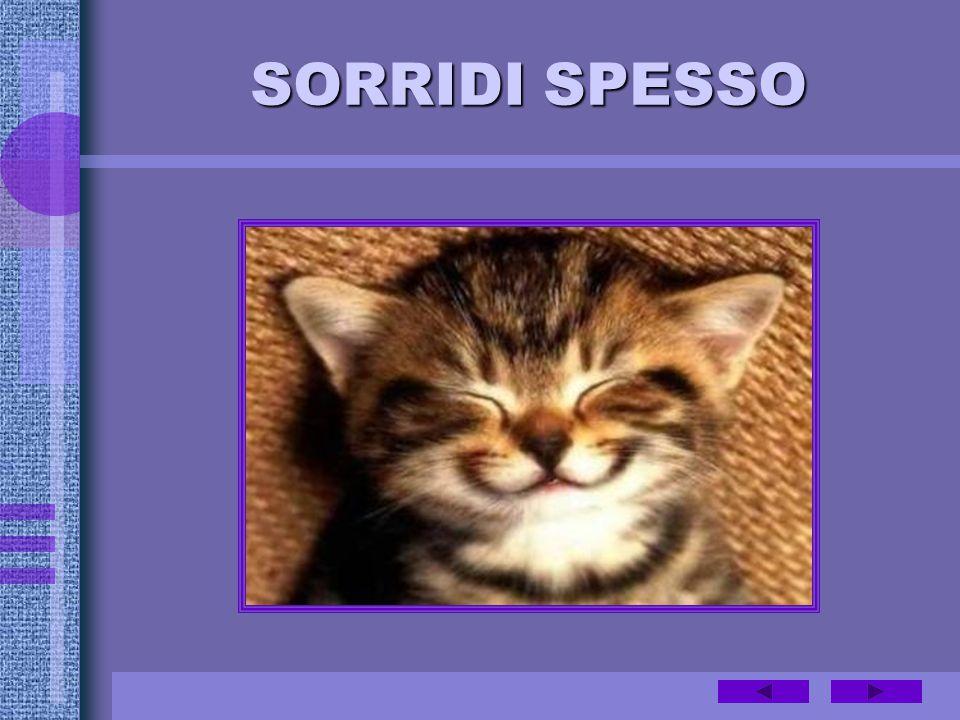 SORRIDI SPESSO
