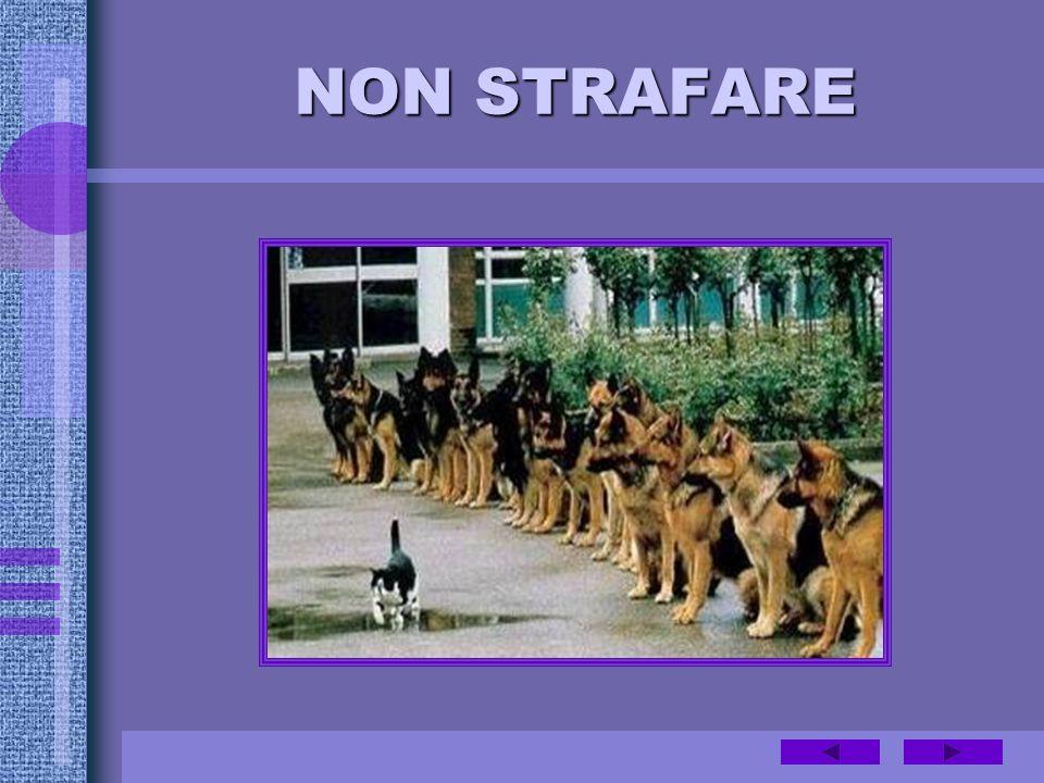 NON STRAFARE