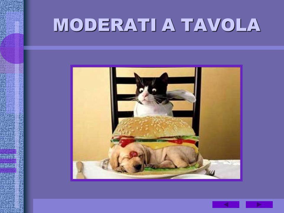 MODERATI A TAVOLA