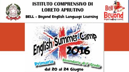Summer Camp: What ? English Summer Camp è un'opportunità per imparare l'inglese in modo divertente e interattivo grazie a Tutors madre lingua inglese.
