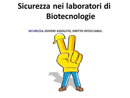 Sicurezza nei laboratori di