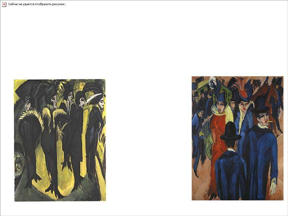 Egon Schiele e Oskar Kokoschka sono i due esponenti dell'Espressionismo Austriaco, non si può parlare però di un movimento come per l'Espressionismo Francese e Tedesco.