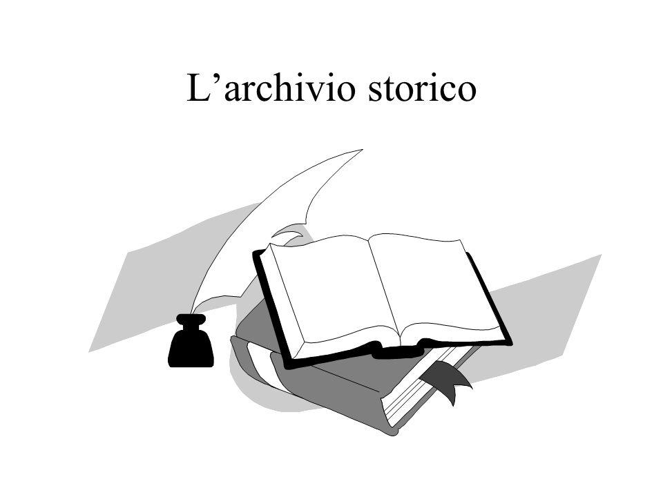L'archivio storico