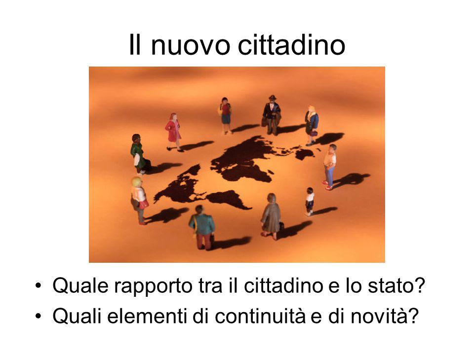 Cultura civica e cambiamenti sociali Quali luoghi formativi nella vita della persona.