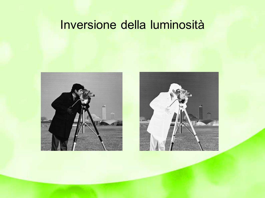 Il nostro occhio non ha sensibilità costante alle differenze a tutte le luminosità