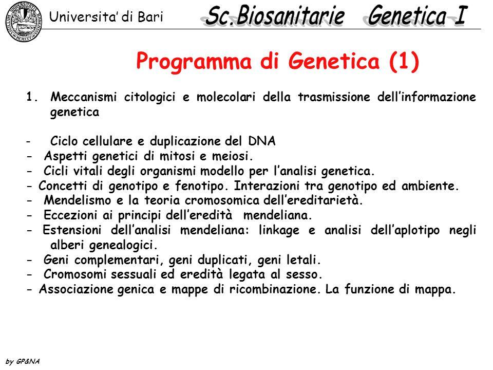 2.Citogenetica -Struttura del cromosoma eucariotico -Ciclo cellulare e duplicazione del DNA -Eucromatina ed eterocromatina -Colorazioni differenziali per l identificazione dei cromosomi: il cariotipo umano -La non disgiunzione a.