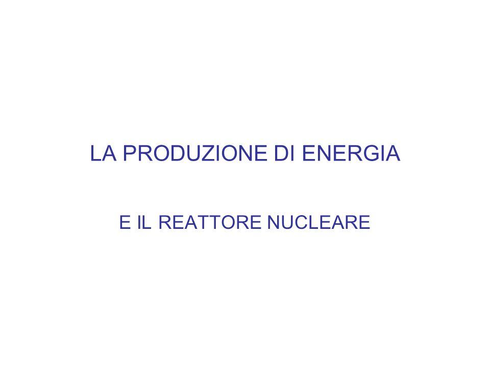 LA FISSIONE NUCLEARE Schematicamente si intende per fissione la divisione di un nucleo pesante in due nuclei- frammenti piu' leggeri a seguito della cattura di un neutrone.