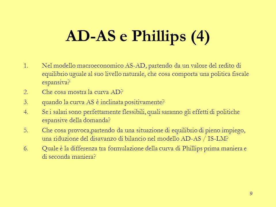 10 Phillips (5) 1.Quale è la differenza tra Phillips prima maniera e Phillips seconda maniera.
