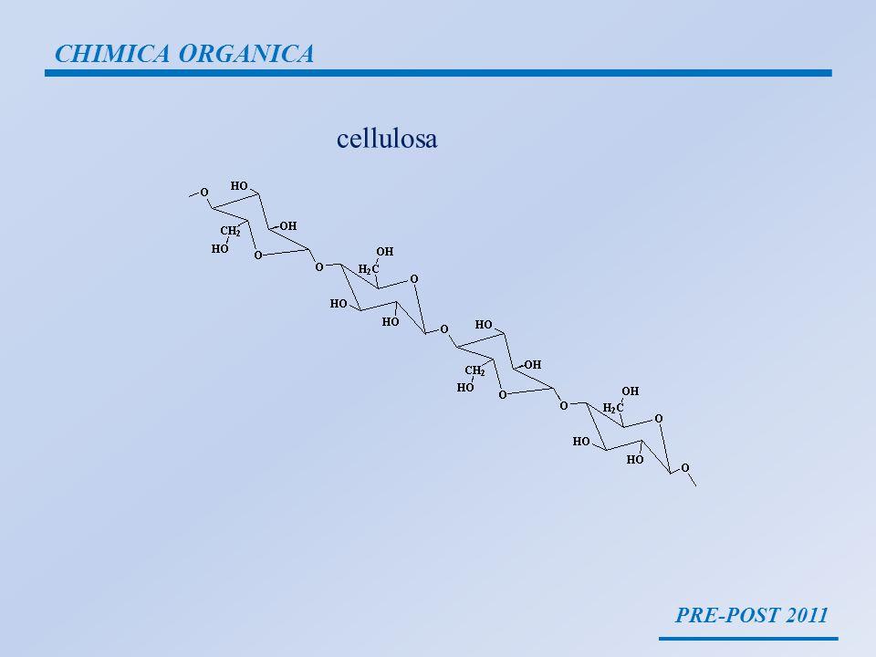 PRE-POST 2011 CHIMICA ORGANICA carboidrati A