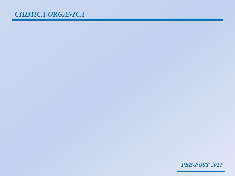 PRE-POST 2011 CHIMICA ORGANICA