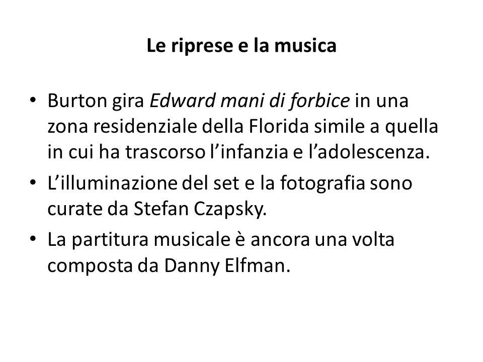 Il capolavoro di Burton Edward mani di forbice viene accolto in maniera positiva, soprattutto dalla critica.
