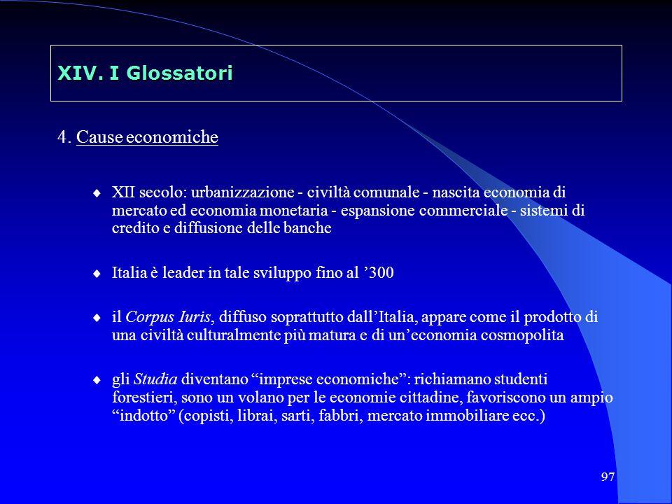 98 XV Il diritto romano e i primi centri di studio