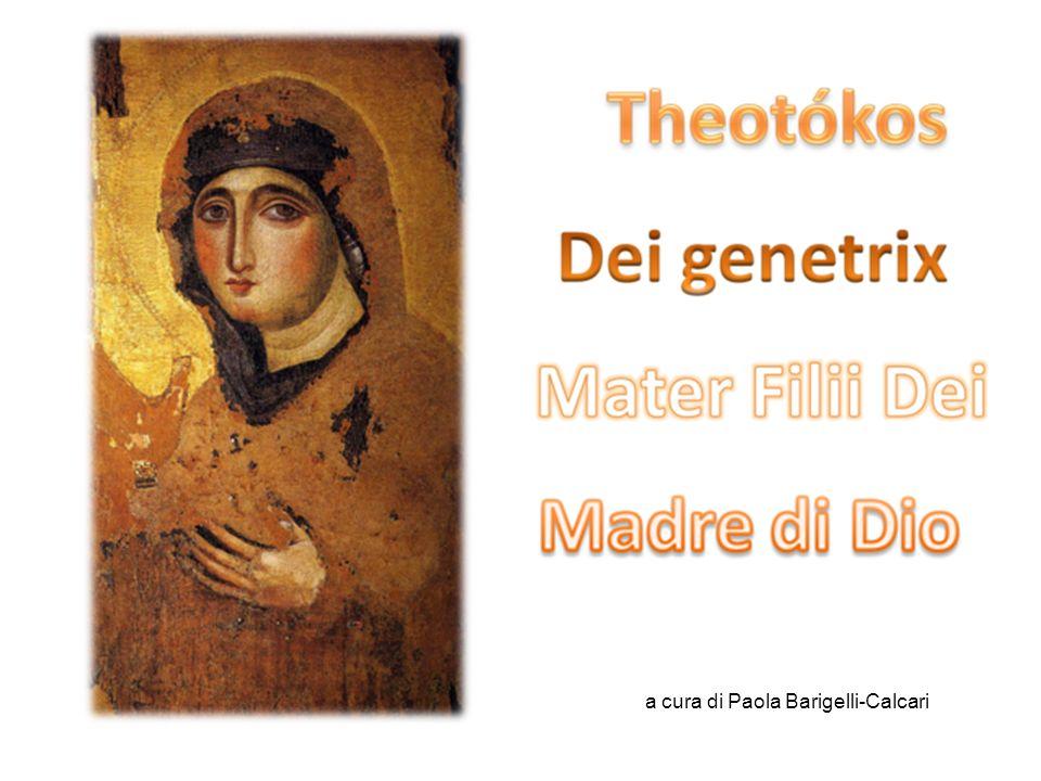 Meter Theon = Madre di Dio Liscrizione dellicona non serve in verità a far riconoscere il personaggio ma a proclamare anche con la scrittura e la Parola, la verità di fede.