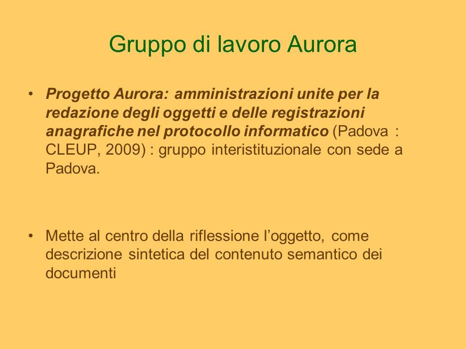 Le premesse Loggetto è la sintesi dei contenuti di carattere giuridico, amministrativo e narrativo di un documento.