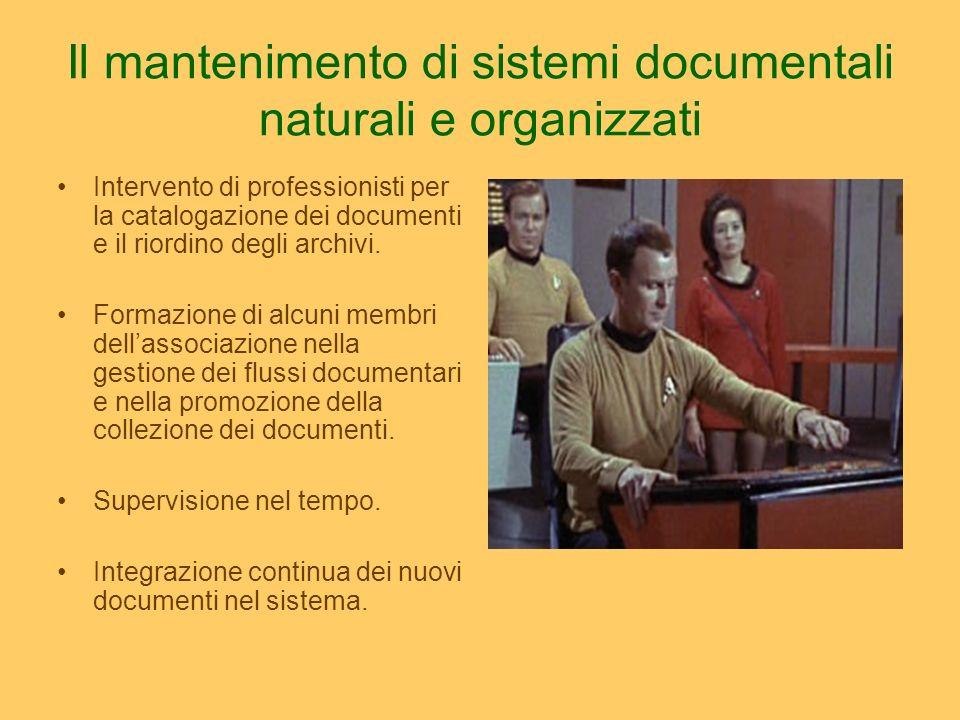 Il tabù I documenti di archivio non si soggettano.