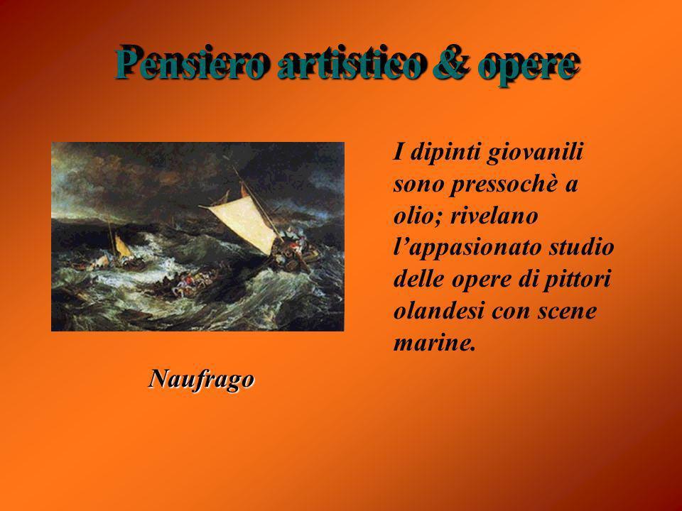 Successiva iniziò dipinse diverse tipi de vario genre,ma si soffermò sul soggetto storico.