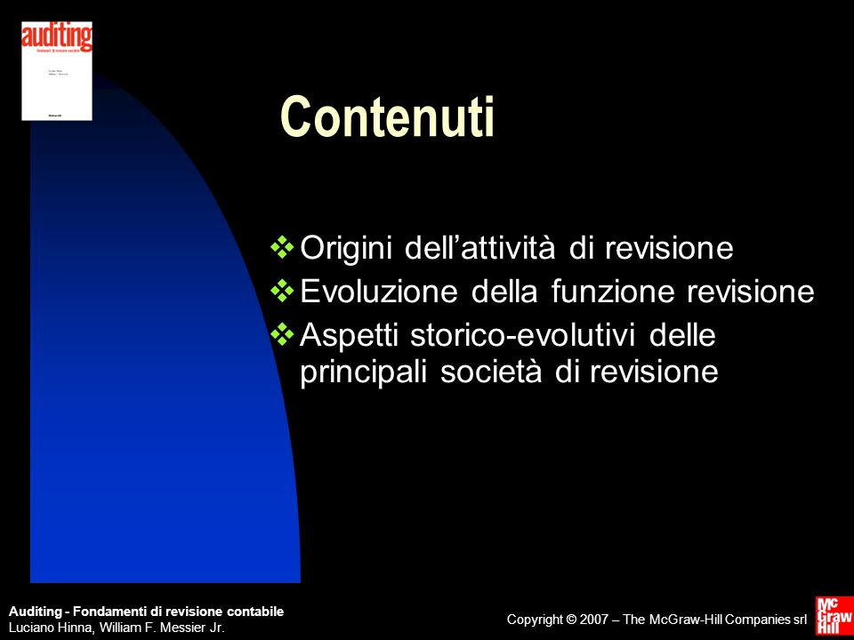 Auditing - Fondamenti di revisione contabile Luciano Hinna, William F.