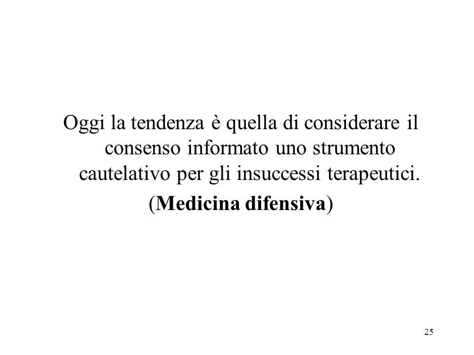 26 In Italia il consenso informato si è diffuso solo verso la fine degli anni Settanta.