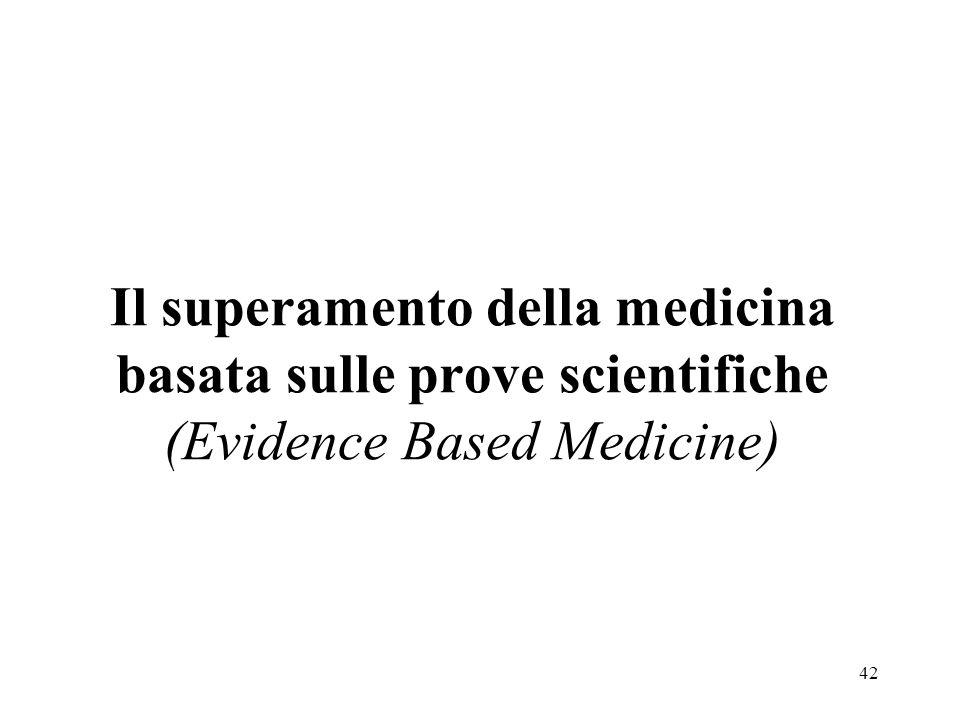 43 Lapplicazione di una medicina basata solo sulle prove scientifiche è unita allerroneo principio secondo cui losservazione clinica è oggettiva e, come tutte le procedure scientifiche, dovrebbe sempre essere riproducibile nello stesso modo.
