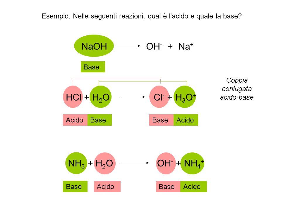 Teoria di Lewis: un acido (base) è una qualsiasi sostanza capace di accettare (donare) una coppia di elettroni di non-legame Quando una base di Lewis offre una coppia elettronica ad un acido di Lewis allora si forma un legame covalente coordinato.