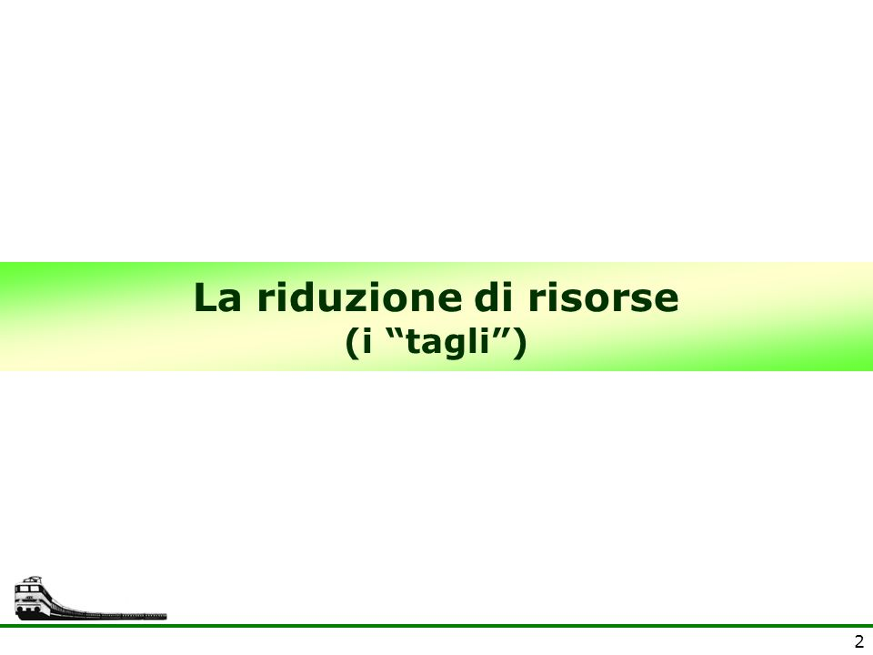 3 Il DL 78/2010 taglia 4 miliardi alle Regioni La Manovra 2010 (DL 78/2010) ha tagliato alle Regioni 4 miliardi di Euro nel 2011, e 4,5 dal 2012.