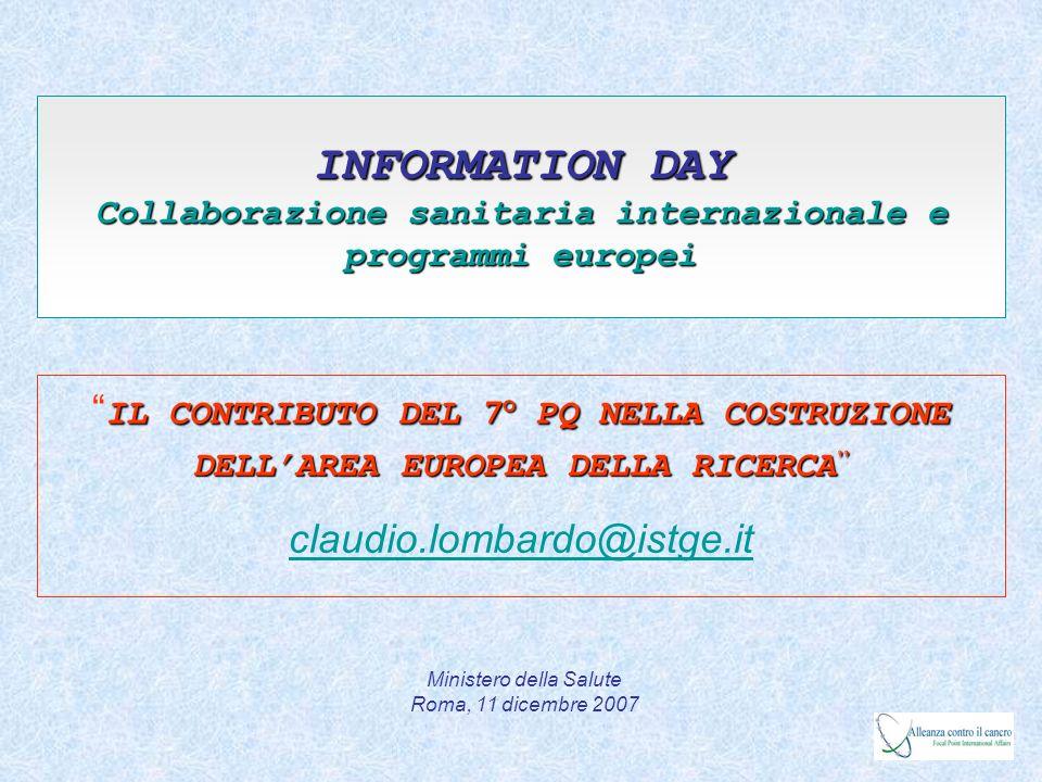 1952 1964-1968 2007 1951 1986 1994/1998 1957 1994 IV PQ 1978 EU Infrastructure IA-SFS Presidente ESFRI Antonio Ruberti G.