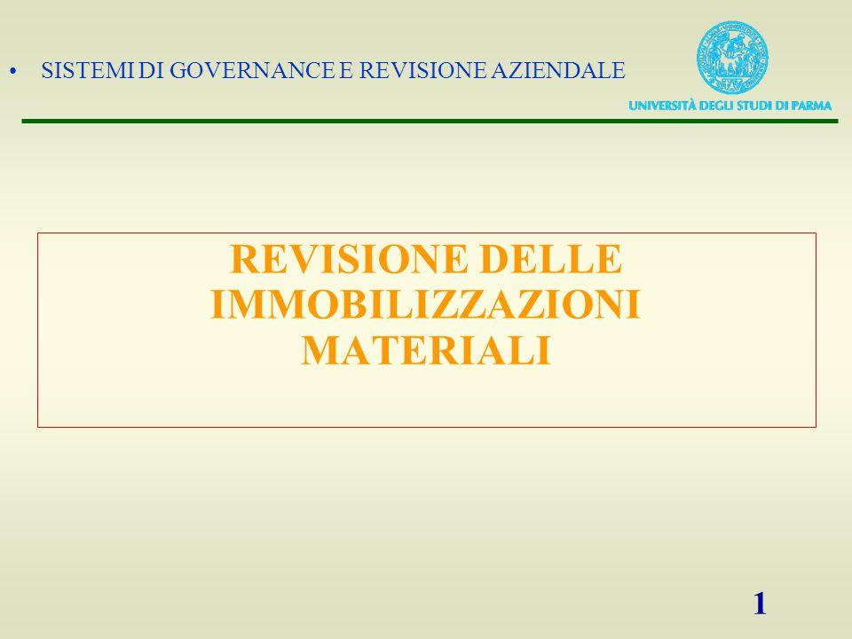 SISTEMI DI GOVERNANCE E REVISIONE AZIENDALE 2 Principi contabili (Doc.