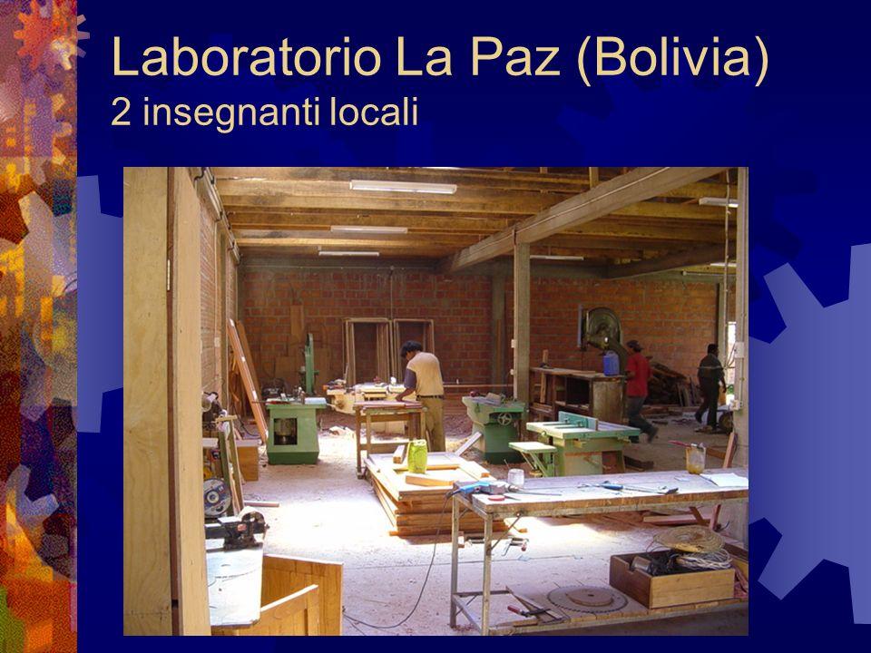 Laboratorio Ndola (Zambia) (2 insegnanti locali + 1 italiano)