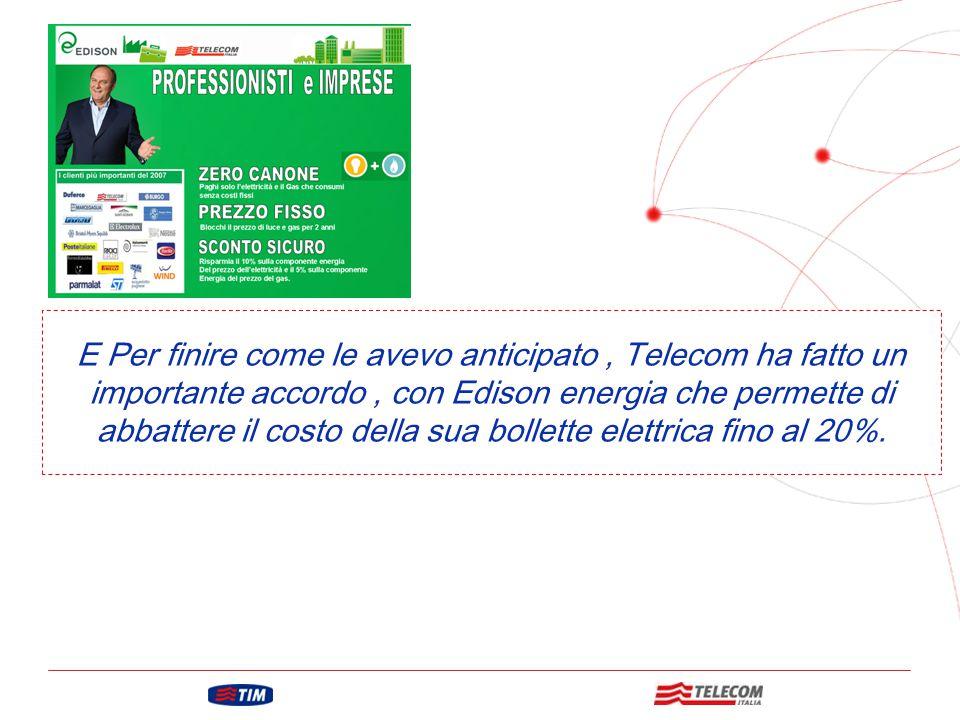 GRUPPO TELECOM ITALIA Questo è il servizio di Impresa Semplice.