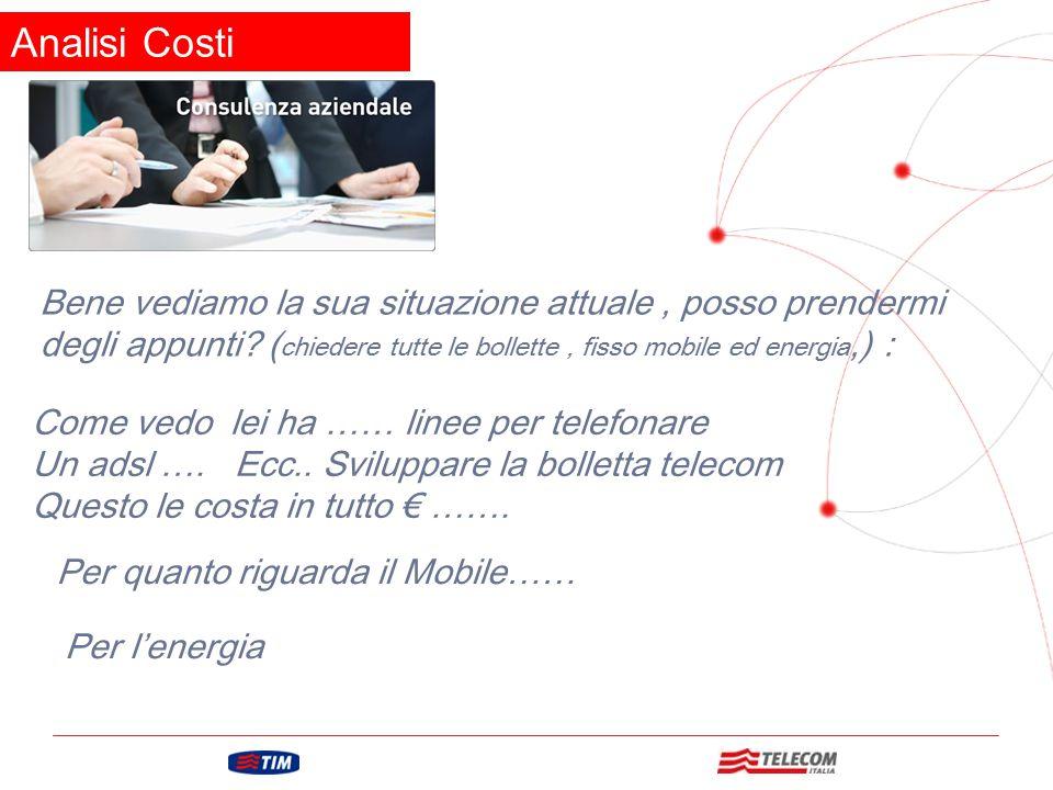 GRUPPO TELECOM ITALIA Analisi Tecnica Questa è la sua situazione dei suoi costi, vediamo ora la parte tecnica!.
