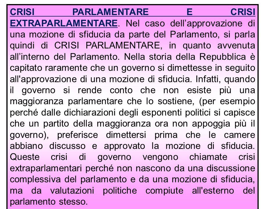 15 Il governo dimissionario rimane in carica fino alla nomina del governo successivo per evitare un vuoto di potere .