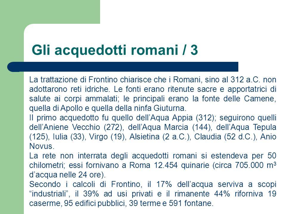 Gli acquedotti romani / 4