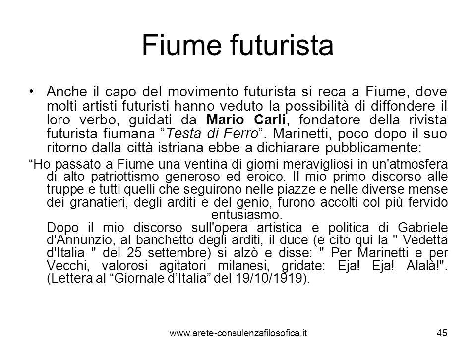 La vita a Fiume: gli Uscocchi Poco dopo lentrata di Dannunzio in città, il governo italiano promuove un blocco navale con lo scopo di impedire i rifornimenti ai legionari.
