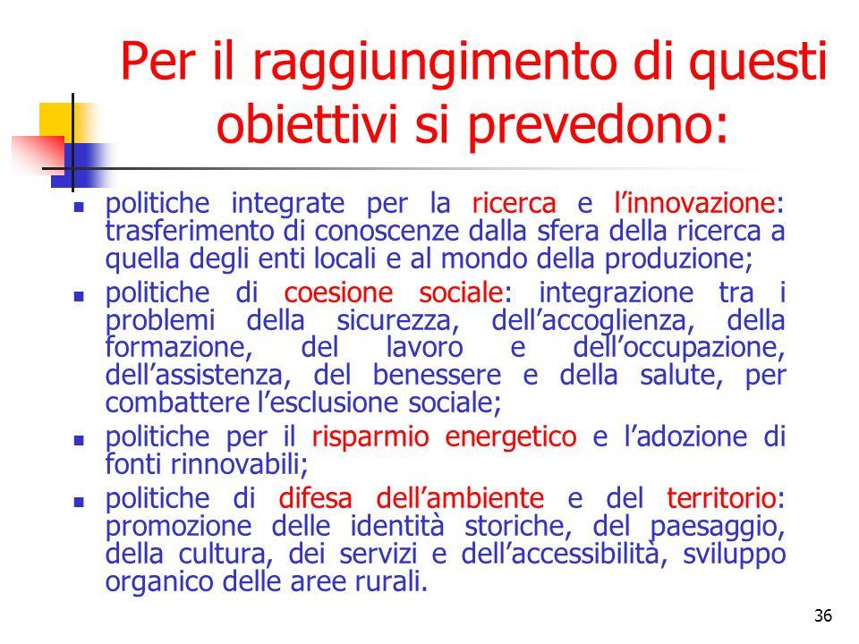 37 Sovrapposizione fra obiettivi nazionali e regionali Miglioramento e valorizzazione delle risorse umane (Priorità 1) Promozione, valorizzazione e diffusione della ricerca e dellinnovazione per la competitività (Priorità 2) Uso sostenibile ed efficiente delle risorse ambientali (Priorità 3) Valorizzazione delle risorse naturali e culturali (Priorità 4) Inclusione sociale e servizi per la qualità della vita (Priorità 5) Reti e collegamenti per la mobilità (Priorità 6) Competitività dei sistemi produttivi e occupazione (Priorità 7) Competitività e attrattività delle città e dei sistemi urbani (Priorità 8) Apertura internazionale e attrazione di investimenti, consumi e risorse (Priorità 9) Governance, capacità istituzionali e mercati concorrenziali (Priorità 10)