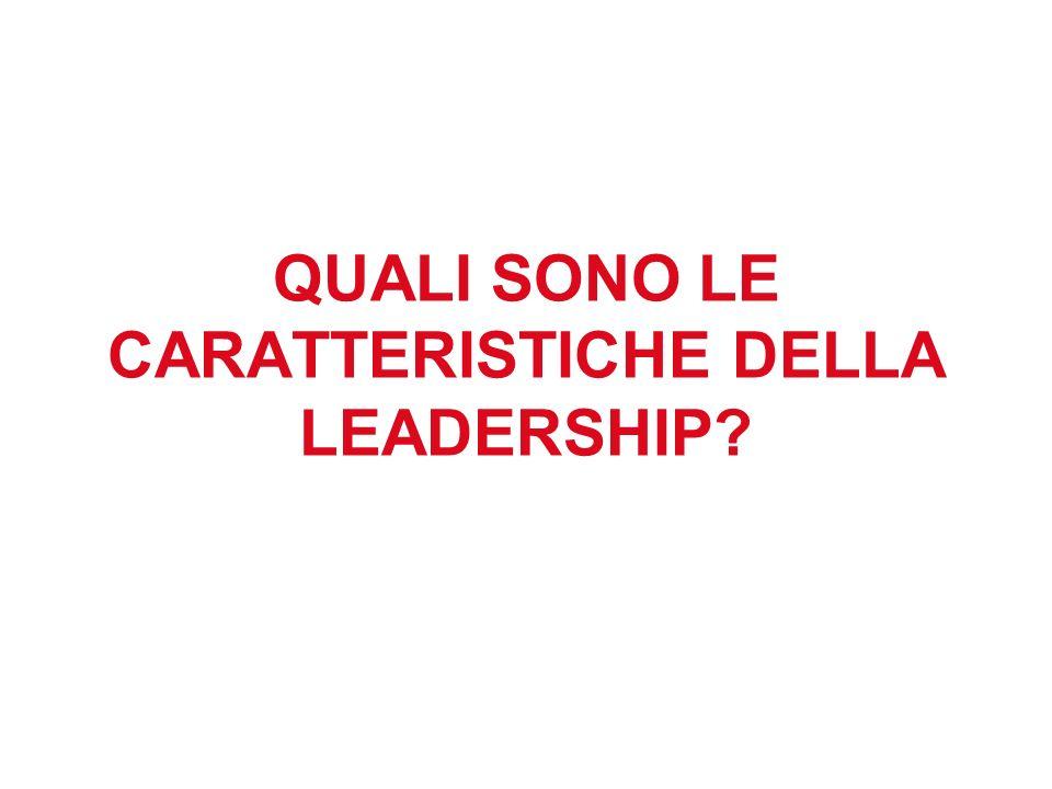 La prima prova che un collaboratore (seguace??) richiede ad un Leader è che lui sia competente.