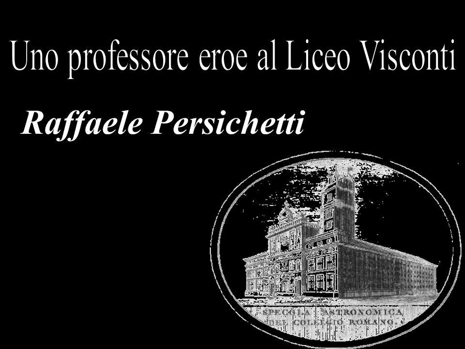 Raffaele Persichetti nasce a Roma il 12 maggio 1915 da una famiglia di profonde tradizioni cattoliche.