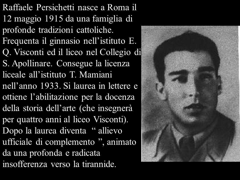 Nel 1941 Raffaele guida una spedizione in Grecia e torna in patria invalido.
