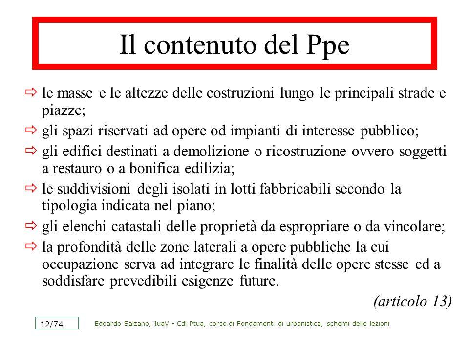 Edoardo Salzano, IuaV - Cdl Ptua, corso di Fondamenti di urbanistica, schemi delle lezioni 13/74 Gli altri piani piano regolatore intercomunale è un Prg esteso al territorio di più comuni.
