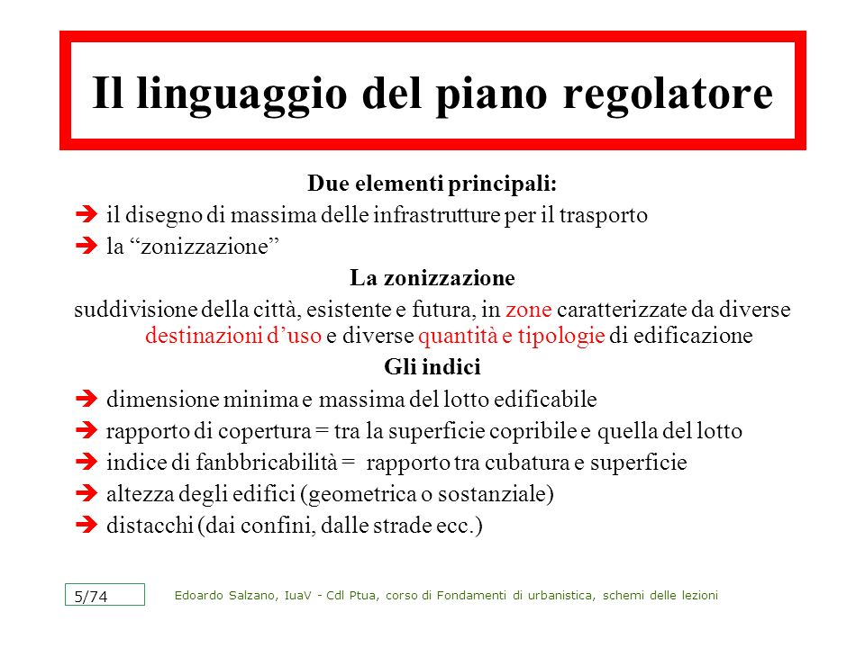Edoardo Salzano, IuaV - Cdl Ptua, corso di Fondamenti di urbanistica, schemi delle lezioni 6/74 La legge urbanistica La legge 1150 del 17 agosto 1942 è ancor oggi la legge fondamentale in materia urbanistica.