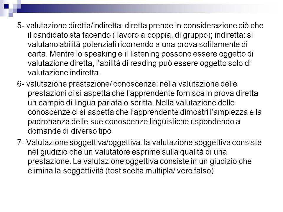 Compito- valutazione 1.