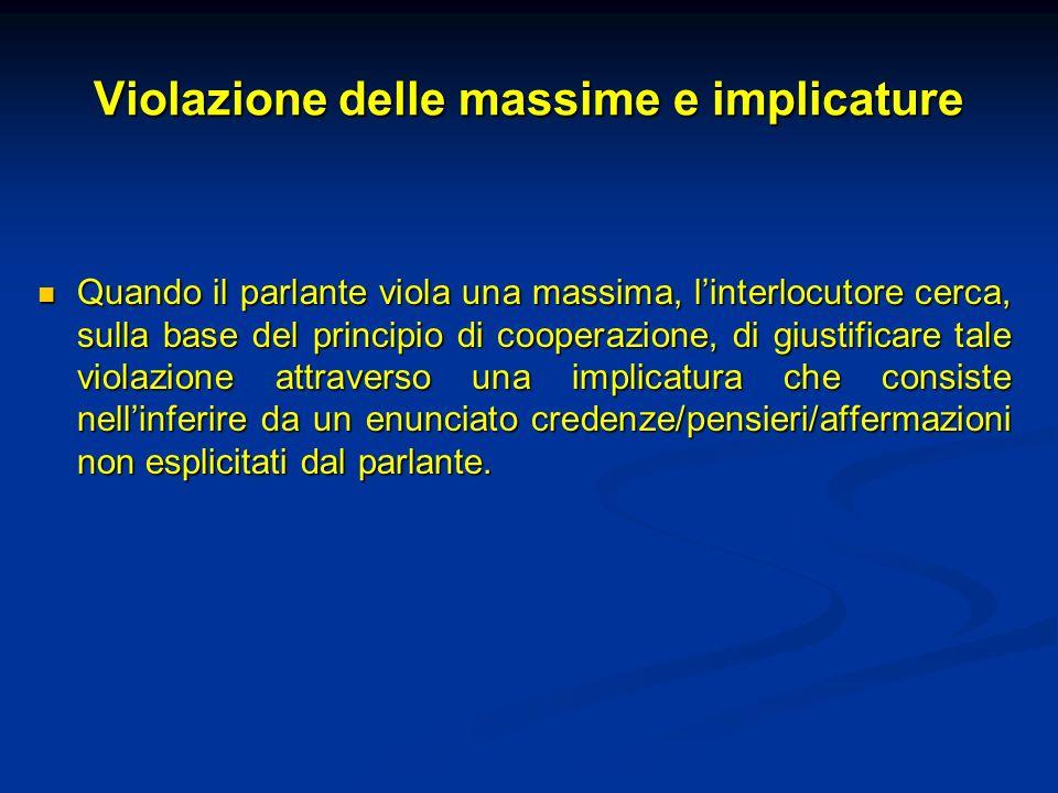 Impliciti: implicature e presupposizioni
