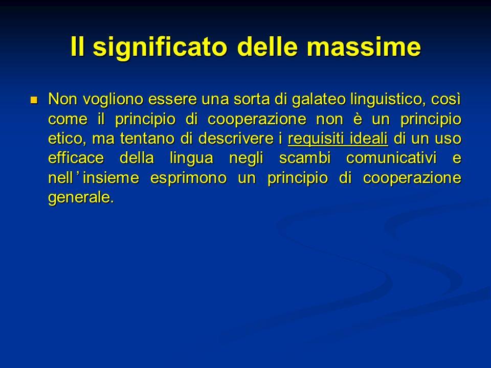 Punti di orientamento di ogni interazione cooperativa e razionale 1.