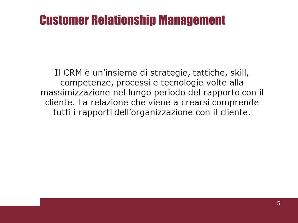 Customer Relationship Management (CRM) is an information technology industry term for the methodologies, strategies, software, and other web- based capabilities used to help an enterprise organize and manage customer relationships.