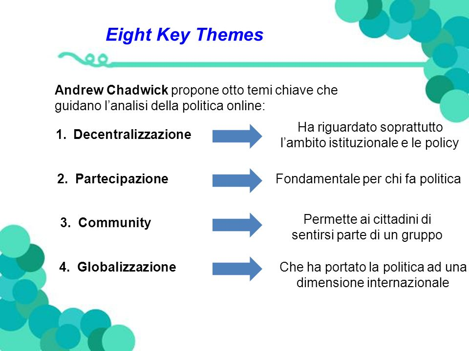 Eight Key Themes 5.