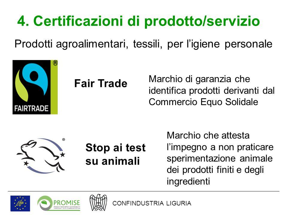 4.Certificazioni dei sistemi di gestione Il Regolamento Europeo n.